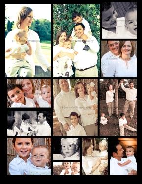 ruiz family photo grid