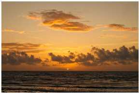 sunrise in Utila