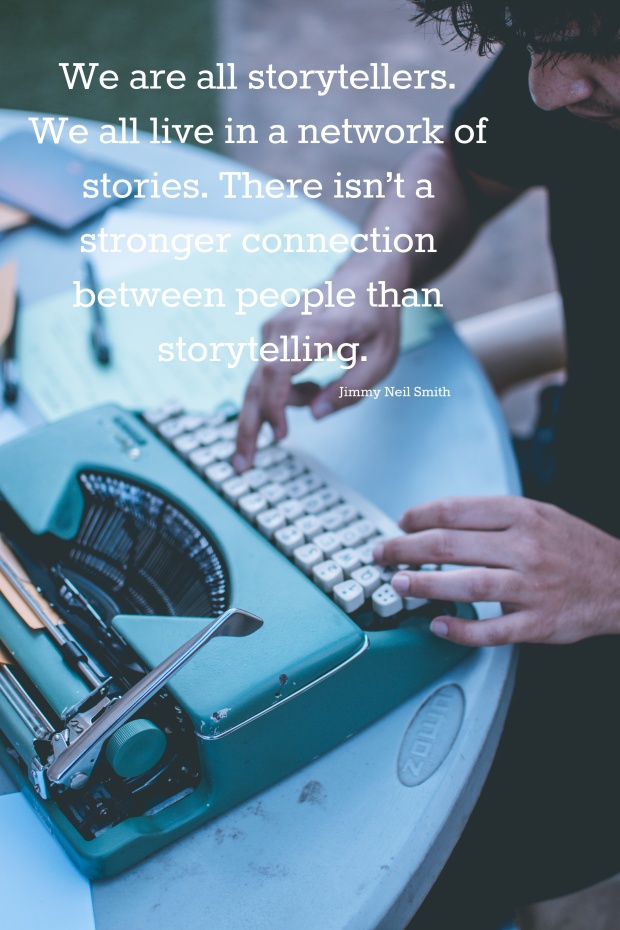 We are all storytellers. Can't we all just get along.