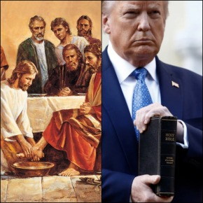 Does Trump reflect Christ